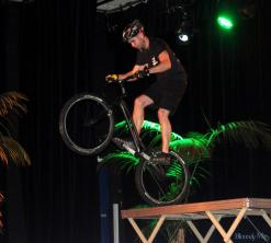 Show de VTT Trial à Drancy - Matthieu Lebon -
