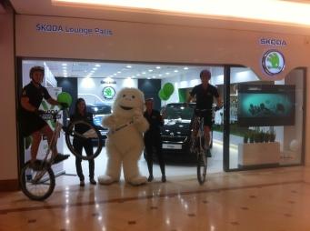 Démo pour le Skoda Expérience Tour de Thiais - Antoine Gast -