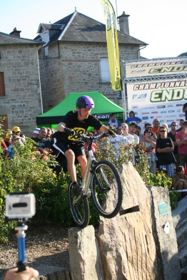 Démo championnat de Franc moto enduro - Antoine GAST -