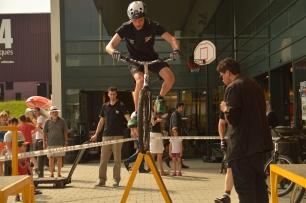 Antoine GAST lors du Show à Go sport / 2013