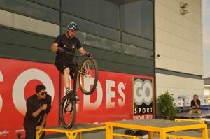 Ludovic Hemmery lors du Show à Go sport / 2013